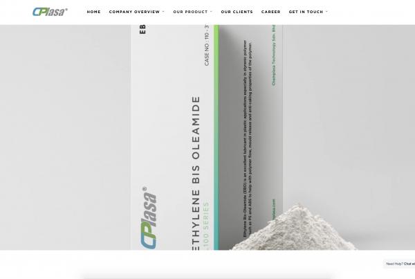 Chemplasa Technology Sdn.Bhd. - Web Design Portfolio
