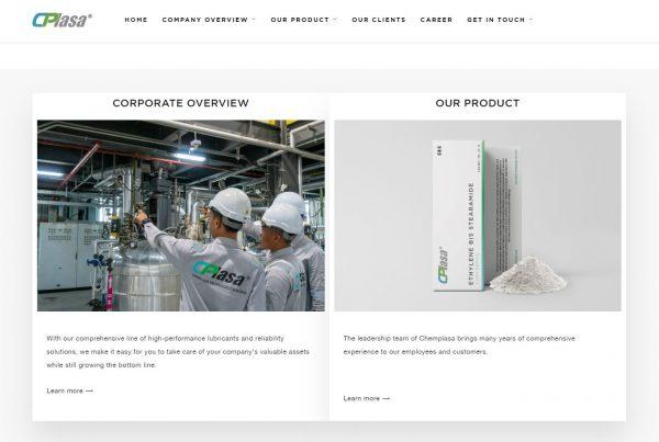 Chemplasa Technology Sdn Bhd - Web Design