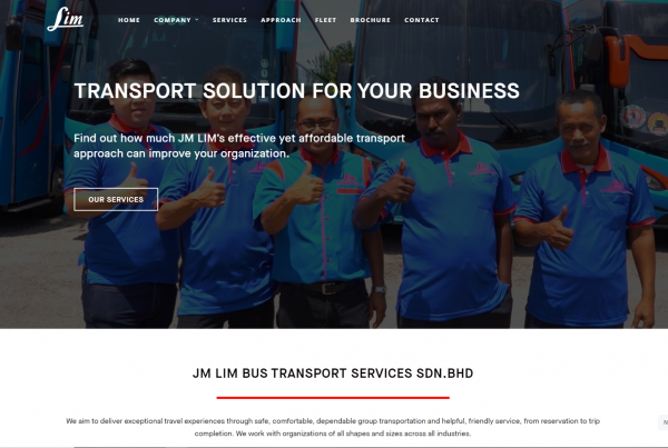 JMLim Bus- Web Design