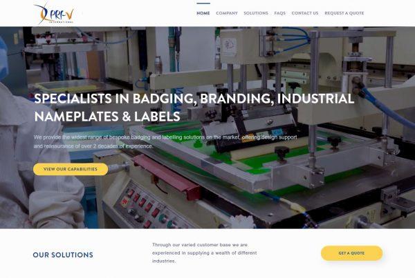 PRI-V Technology Sdn.Bhd. - Web Design