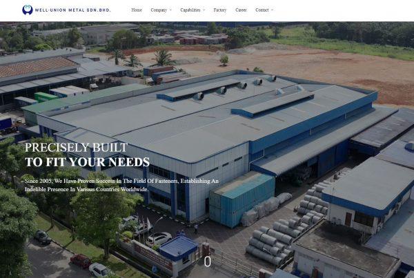 Well-Union Metal Sdn. Bhd. - Web Design